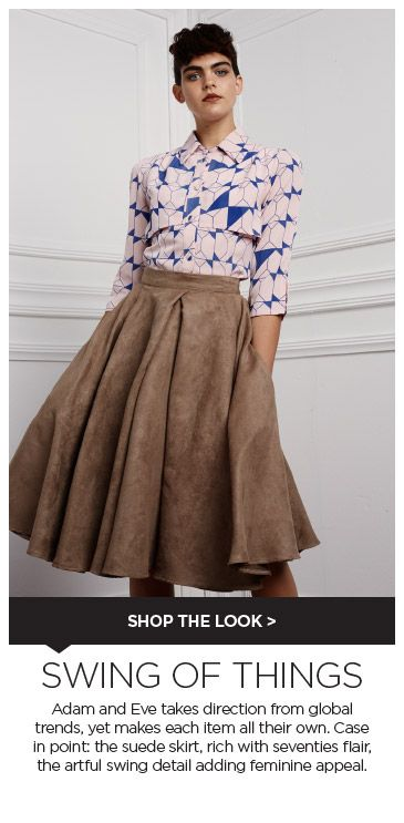 Professional boutiques  and (online) retailers are welcome to place preorders with us for ADAM & EVE ITEMS.  http://thefashionagent.co.za/  SPREE : http://www.spree.co.za/adam-eve-frances-suede-like-skirt-mid-brown/product/K32E7Z7?event_category=adam-eve-landing&event_action=product-K32E7Z7 #thefashionagent #multilabel #showroom #agent #agency #fashionshowroom #fashionagency #TFA #womenswear #womensfashion #capetown#southafrica #southafricandesigners
