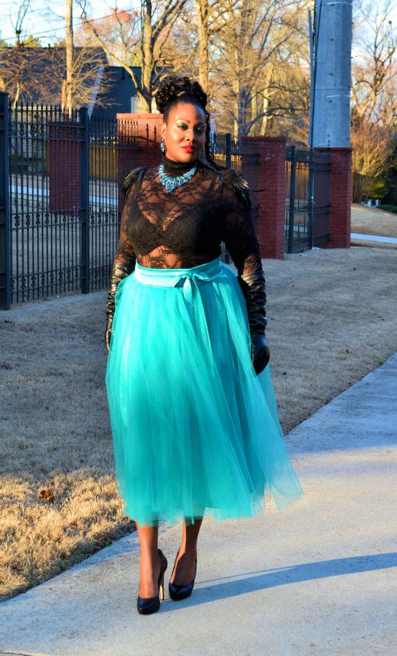 Plus Size Tutu Skirt  ALL COLORS by SpoiledDiva on Etsy