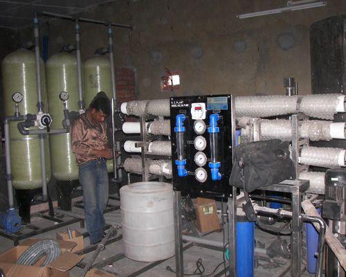 R.O. plant Installation