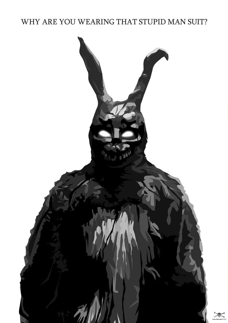 "Donnie Darko - ""Why are you wearing that stupid man suit?"""
