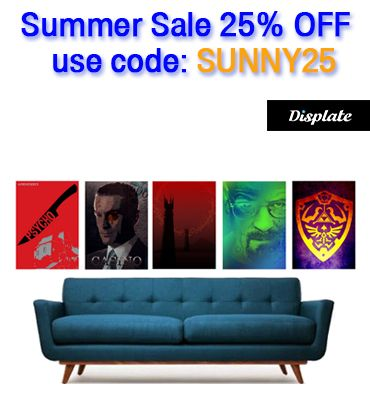 25% OFF Everything!! Use code  SUNNY15. #sales #posters #save #discount #movieposters #gamingposters #zeldaposter #metalprint #breakingbadposter #psychomovieposter #casinomovieposter #gifts #homedecor #homegifts #displate