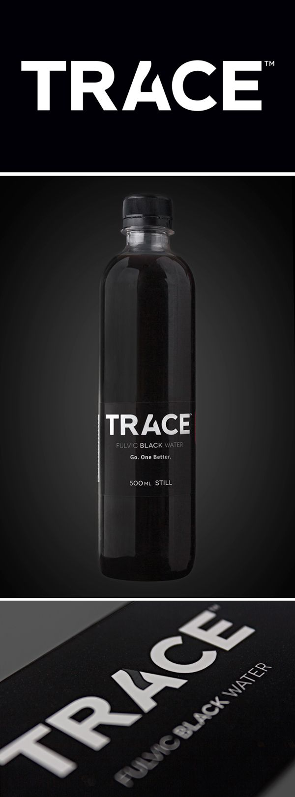 TRACE Fulvic Black Water on Behance