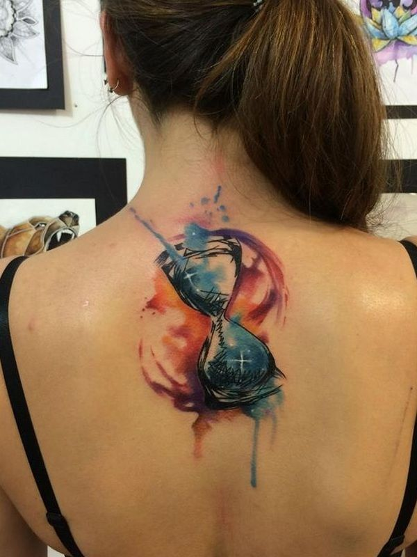 50 Valuable Hourglass Tattoo Designs and Meanings - Time is Flying                                                                                                                                                     More