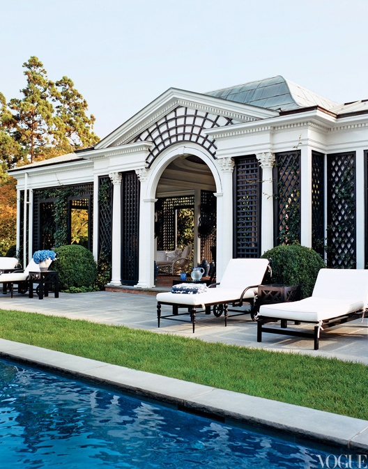 Tory Burch's South Hampton home