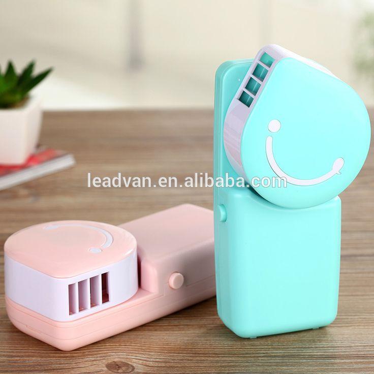 Creative Handheld USB Charging No leaf fan air conditioning upgrade version mini fan