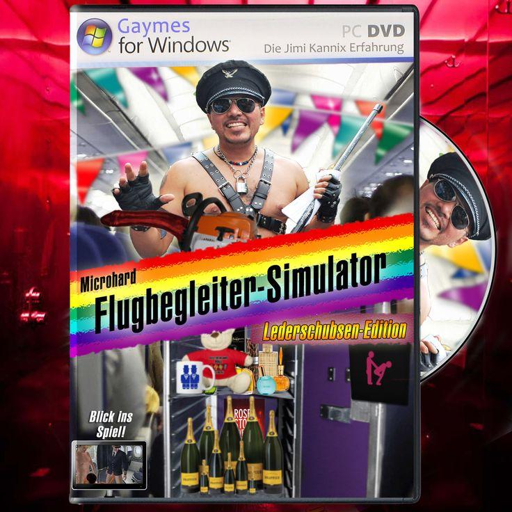 """Microhard Flugbegleiter-Simulator"" // Die Jimi Kannix Erfahrung  ### Flight Simulator, Flubegleiter, Flugsimulator, Game, Gaming, Gaymes, Microsoft, Parodie,"