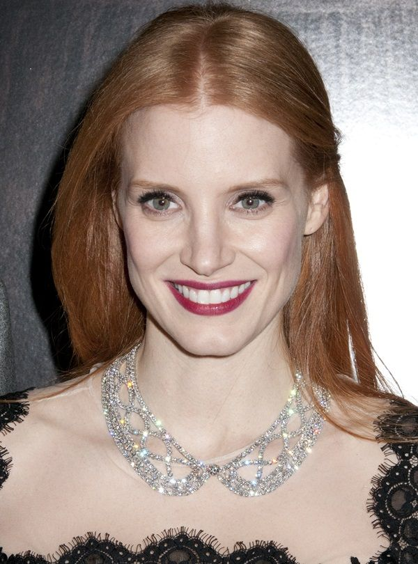 Jessica Chastain at a special screening of Mama at the Landmark Sunshine Theater in New York City on January 8, 2013