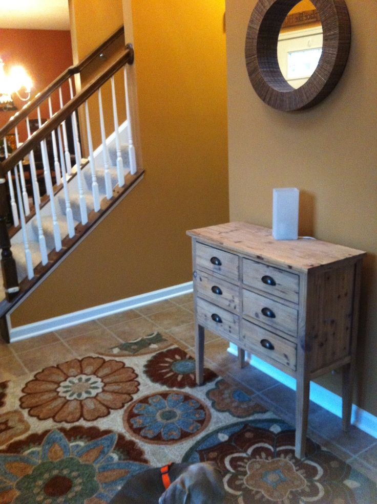 Entryway Upgrade Sherwin Williams Color Tatami Tan Bhg