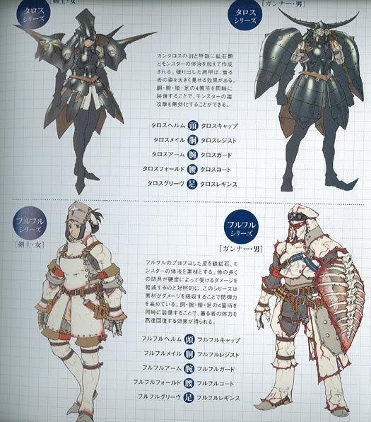 Monster Hunter Freedom 2 Concept Art