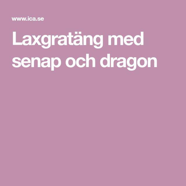 Laxgratäng med senap och dragon