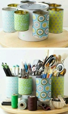 DIY! THIS IS SUCH A CUTE IDEA FOR THE KIDS TO KEEP EVERYTHING ORGANIZED.
