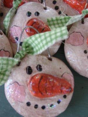 165 best SALT DOUGH love images on Pinterest  Christmas crafts
