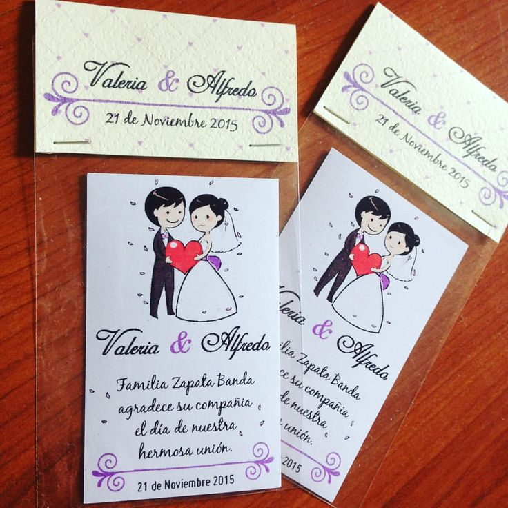Imanes para el refrigerador - Matrimonio Valeria & Alfredo