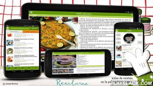 Recetario, Recetas De Cocina  Android App - playslack.com ,  Recetario (Miles de recetas en la palma de tu mano)• Miles de recetas de cocina categorizadas• Más de 100.000 usuarios registrados y aportando, día a día, más y más recetas (más de 15000 y subiendo!)• Modo Comunitario: Conéctate para descargar nuevas recetas• Librería interna: Más de 2500 recetas preinstaladas más todas las que quieras descargarte que podrás consultar sin necesidad de conexión• Diferentes modos de cocinar: Cocina…