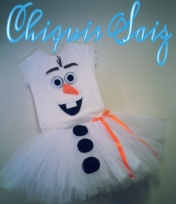 Hey, I found this really awesome Etsy listing at https://www.etsy.com/listing/198473290/olaf-tutu-with-tshirt