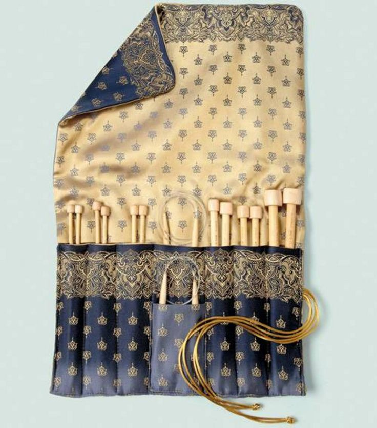 Knitting Needle Cases Storage : Diy une pochette pour aiguilles knitting needle case