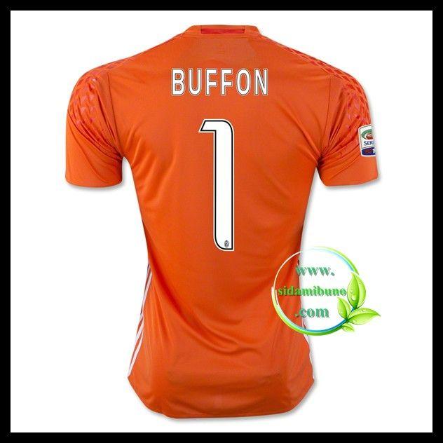 Fotballdrakter Juventus BUFFON #1 Keeper 2016-2017