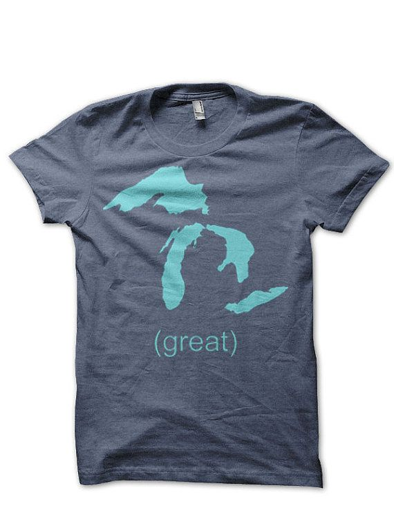Great Lakes tshirt by 517Shirts on Etsy