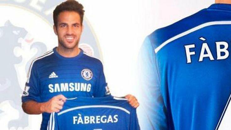 Premier League: Chelsea secure deal for ex-Arsenal midfielder Cesc Fabregas. He is a BLUE boy now #Chelsea #Sports