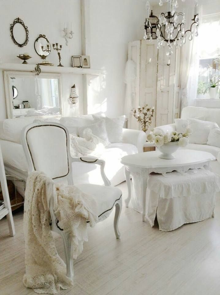 Shabby chic is an absolutely enchanting decor