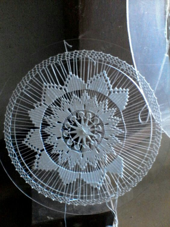 teneriffe༺✿༻ Needle Weaving Venez profitez de la Réunion !! www.airbnb.fr/c/jeremyj1489