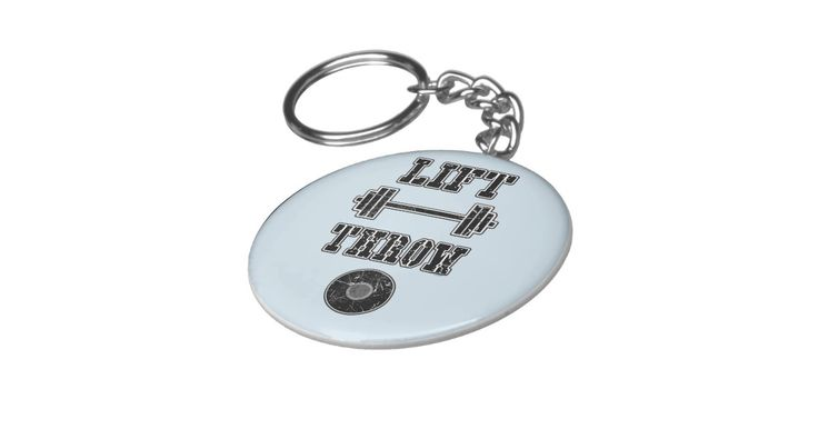 Lift weights throw discus. Throw Happy creates a variety of designs for track and field athletes, mostly focusing on the throwing events. Check out www.throwhappy.com for more merchandise!