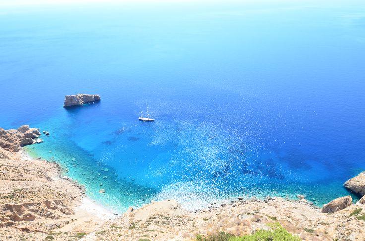 Heaven.  #amorgos #visitgreece