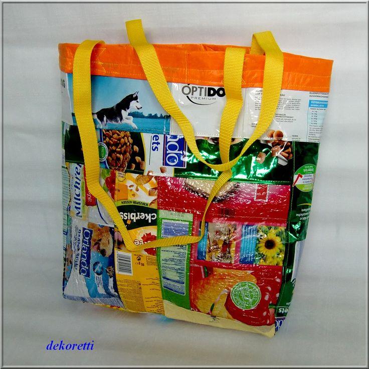 fused plastic bags, Plastiktüten dekoretti´s Welt, Plastiktüten Recycling, Plastiktüten bügeln, Plastiktüten zusammenschmelzen, Taschen nähen, plastic bag upcycling, DIY, material from melted plastic bags