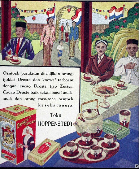 Indonesian Old Commercials: Droste's Cacao
