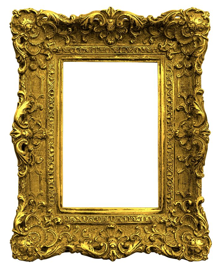 Antique Gold Picture Frames | Antique Gold Frame Png Gold antique frame.png