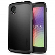 Funda SGP Spigen Nexus 5 - Slim Armor Smooth Black  $ 450.36