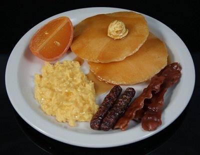 Fake Food Home Run Breakfast