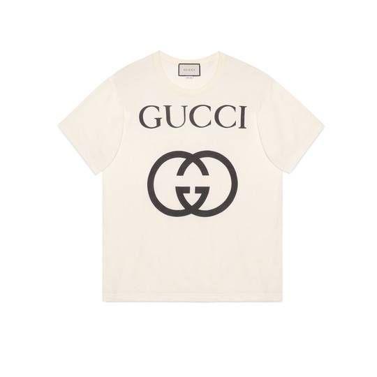 daa7aa0aa4c Oversize T-shirt with Interlocking G - Gucci Women s T-shirts  539081X3Q357561