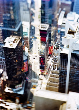 Olivo Barbieri - Tilt-shift lens photography