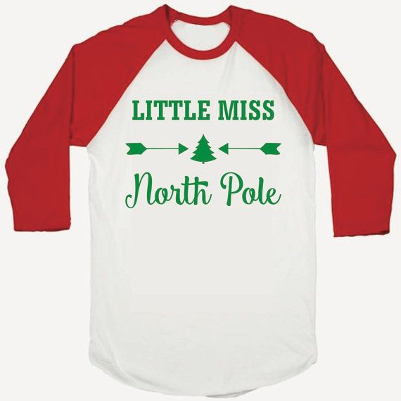 Toddler Girl Chirstmas Outfit, Baby Girl Christmas Outfit, Kids Christmas Shirt, Children's Christmas Clothes, Little Miss North Pole