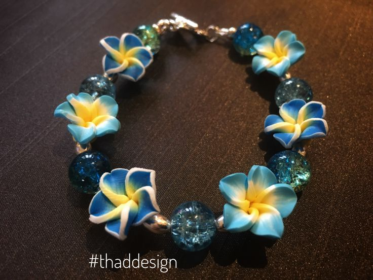A lady loves her flowers... and now she can keep them with her, always! Here is our Love Always, flower bracelet, now available on our website.   #bracelet #flower #thaddesign