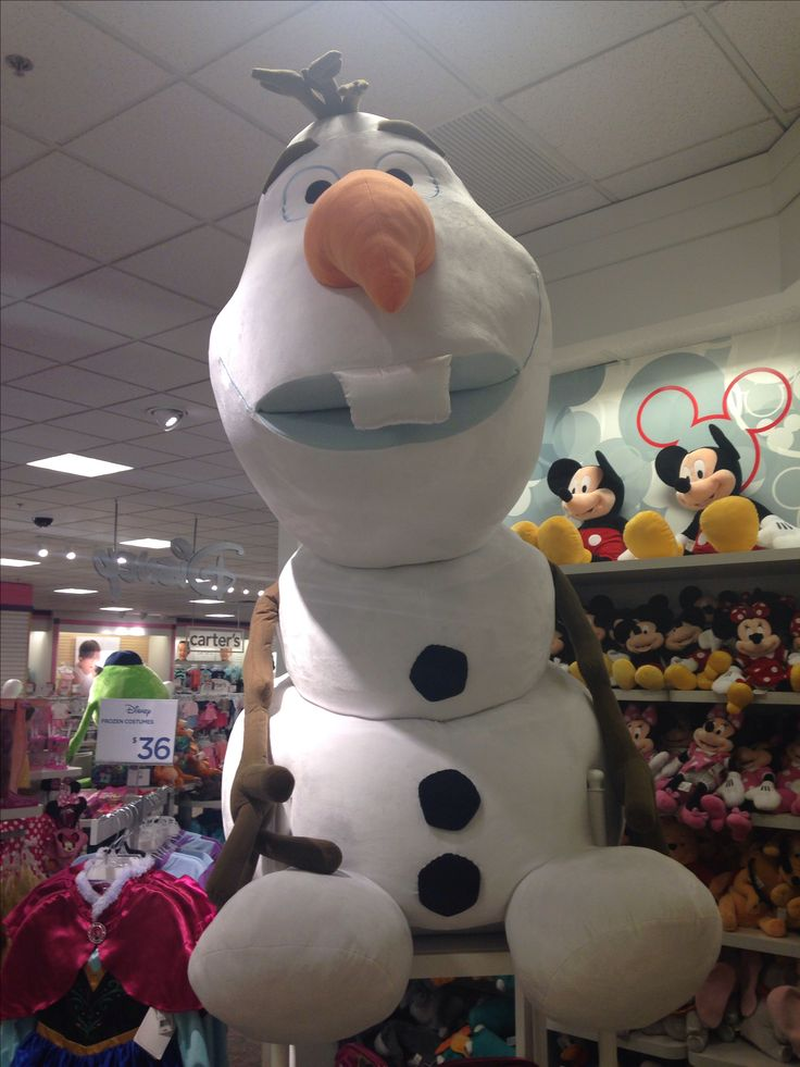Giant Olaf Disney Stuffed Animals Giant Stuffed