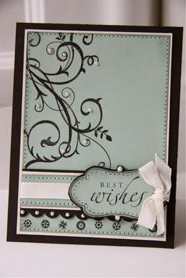 Stampin Up Stamps - Baroque Motifs, Sincere Salutations, A Beautiful Thing, Frames With a Flourish