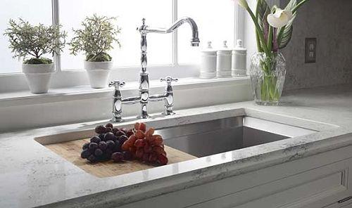Dupont Zodiaq In Bianco Carrara Kitchens Pinterest