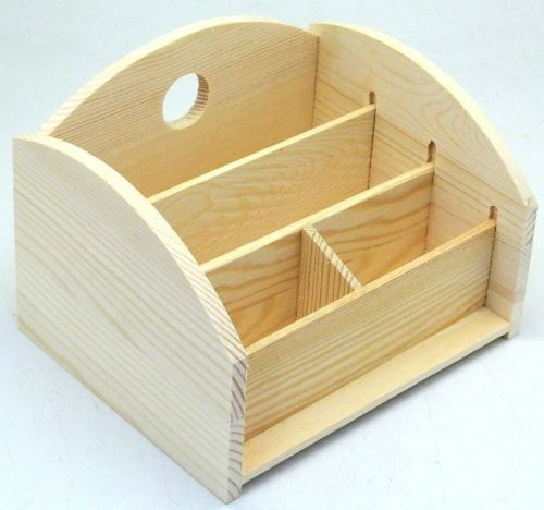 Design-Your-Own-Wood-Remote-Control-Paper-4-Cells-Organiser-Stand-Holder