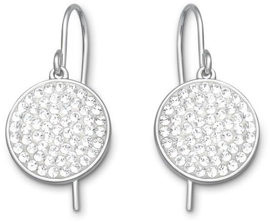 Swarovski, Top: Pierced Earrings, $120