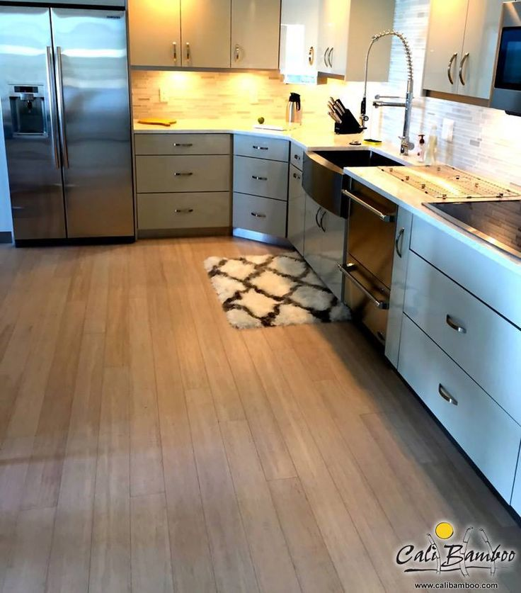 Gorgeous Vintage Pearl Fossilized® Wide Click Bamboo Flooring From Cali  Bamboo