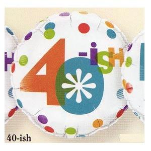 "40ish Mylar Balloon 18"""