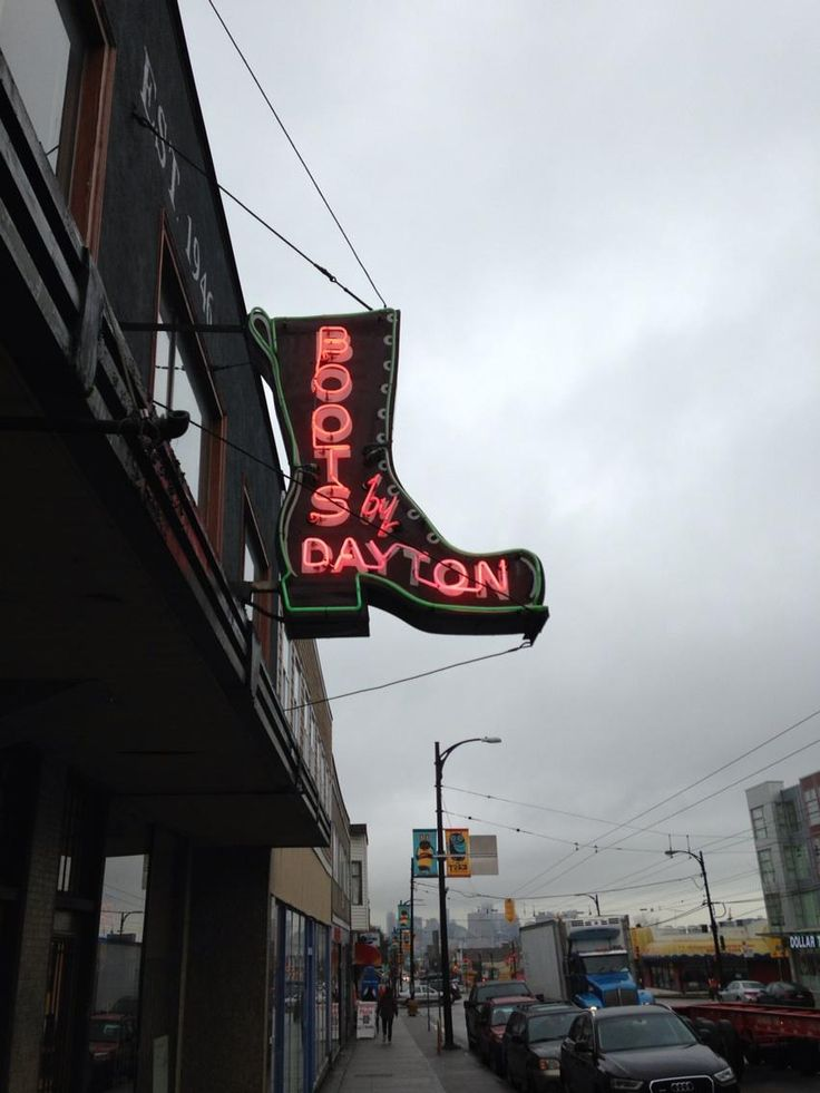 Eternally the best #neon sign in Vancouver #YVR