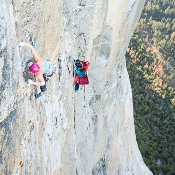 In 6 Days and 40 Pitches, Emily Harrington Sends Yosemite's El Capitan | Outside Online