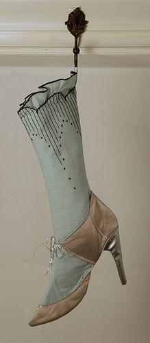 ʂŧɘąɱ ~ ❄☃ Steampunk Victoriana Christmas ☃❄ ~  Stocking by lieschenmueller