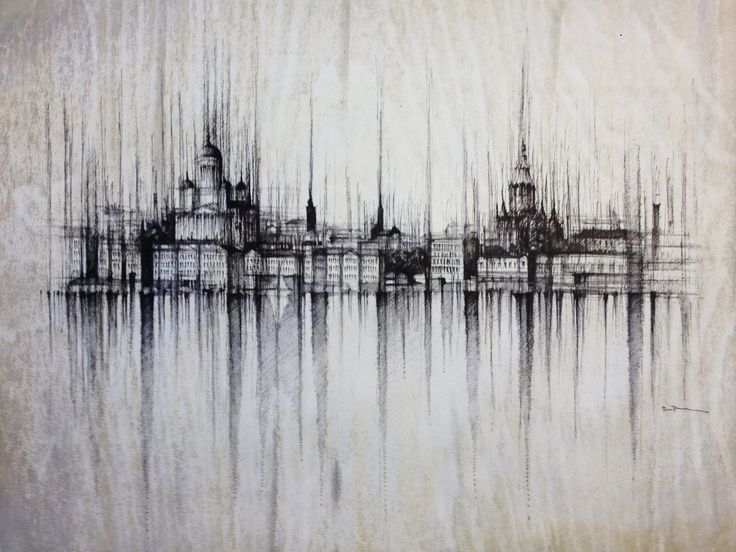 HELSINKI PANORAMA- Finland  Drawing on paper, 40x30cm, framed 55x45cm,ink and water  © Pavel Filgas 2016   #helsinki #artists #kresba #world #amazing #drawing #draw #pen #sketch #art #pavelfilgas #panorama #finland #love #art #ilustration #creativity #graphic #city #iblackwork #artlovers #citydrawing