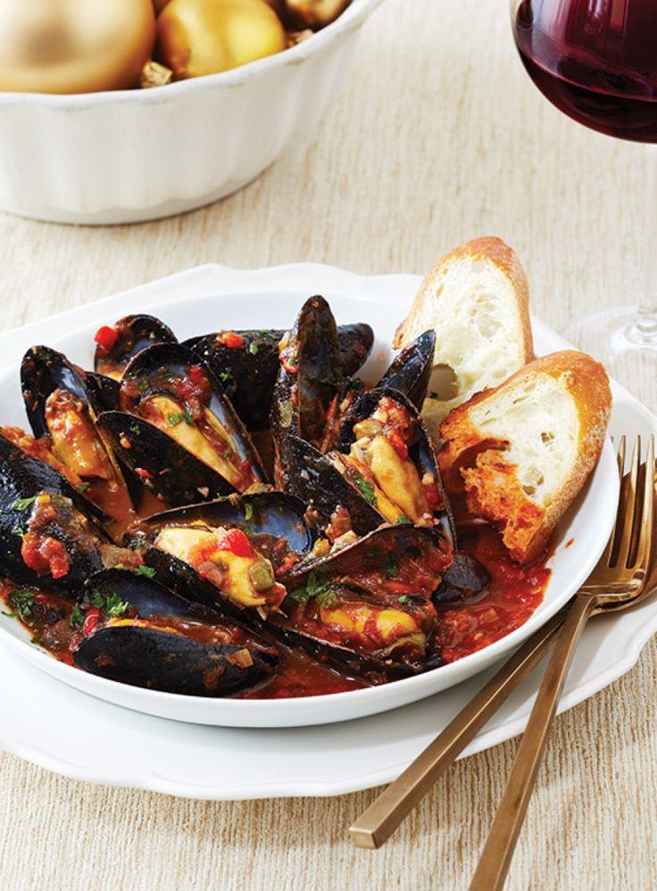 Mussels Puttanesca - Michael-Angelo's Fresh!