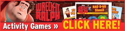 Wreck-It Ralph Printables