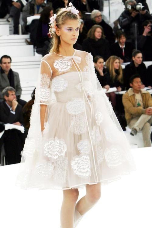 Chanel wedding dress